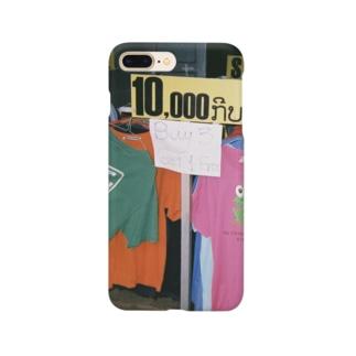 ラオスのTシャツ屋さん Smartphone cases