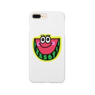 スイカくん🍉💗 Smartphone cases