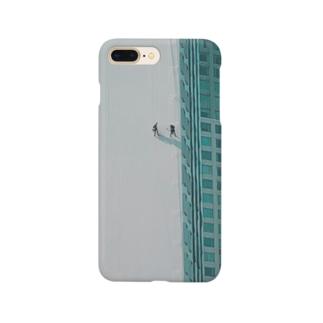 働く人 Smartphone cases