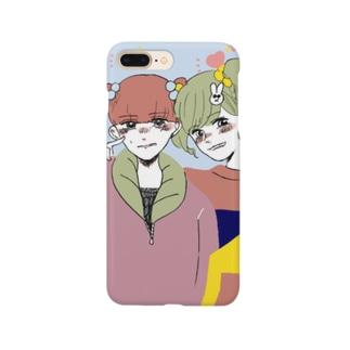 バカップル Smartphone cases