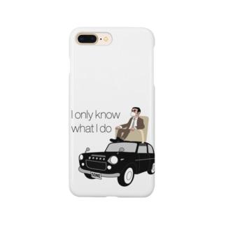 レトロカーと太マユマスクCEO Smartphone cases