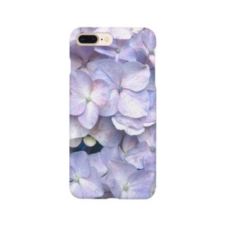 紫陽花の花言葉は移り気 Smartphone cases