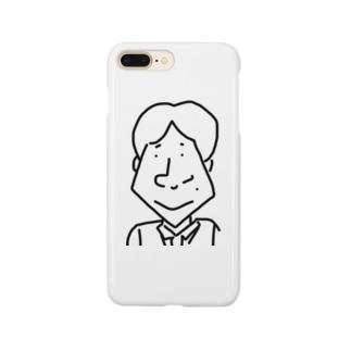 ハットリさん Smartphone cases