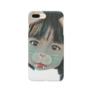 小悪魔ねこちゃん Smartphone cases