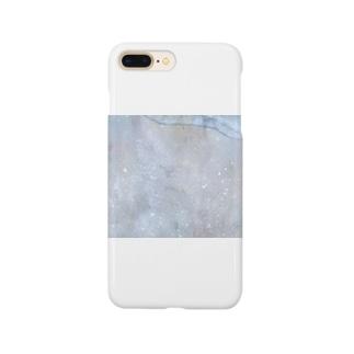 波打つ星雲:砂浜 Smartphone cases