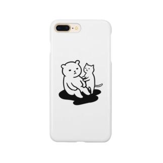 思案するクマ Smartphone Case