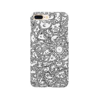 ひま暇お絵描き ① Smartphone cases