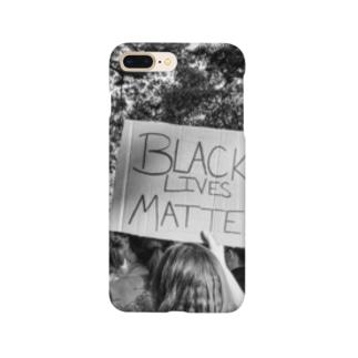 BLACK LIVES MATTER画像 Smartphone cases