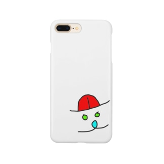逆から見たらあっかんべー Smartphone cases