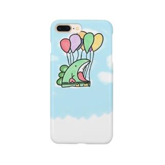 #空飛ぶ恐竜くん  Smartphone cases