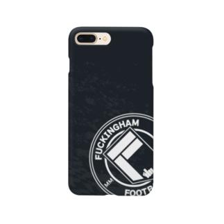 FFCエンブレム - ブラック Smartphone cases