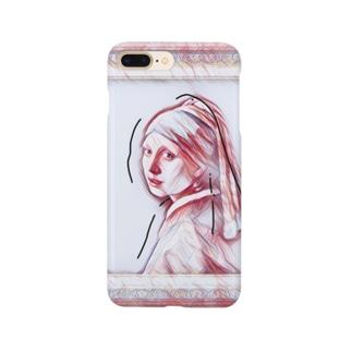 93のターバン女 Smartphone cases