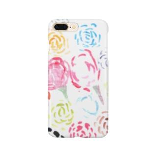 虹色のばら Smartphone cases