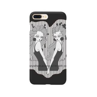 ふてこ-stripe- Smartphone cases