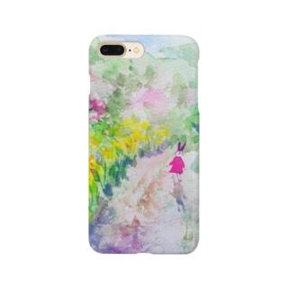 さんぽみち Smartphone cases