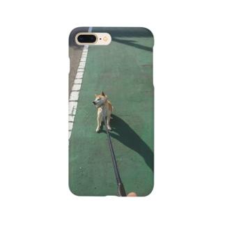 ゆかいな犬3Dスマホケース お散歩ver Smartphone cases