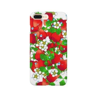 フレッシュ☆ストロベリー Smartphone cases
