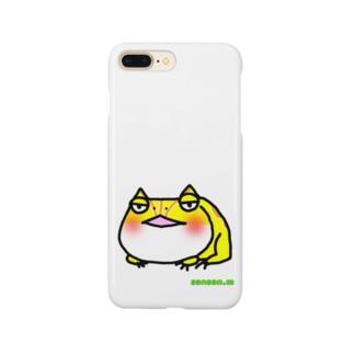 くらんうぇるのつのがえる Smartphone cases