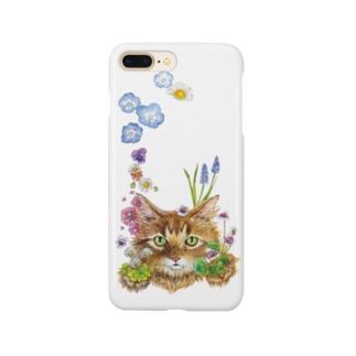 花咲かCAT Smartphone cases