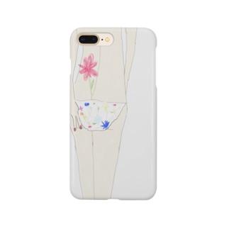 egmikiの花とピース Smartphone cases