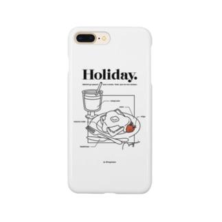 ホリデーなスマホ Smartphone cases