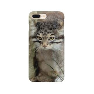 otocolobus manulのマヌルネコ Smartphone cases