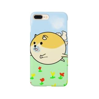 ゆかいな犬スマホケース Smartphone cases