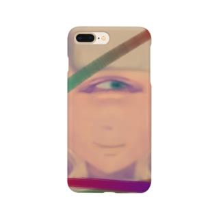 単眼パッツン Smartphone cases