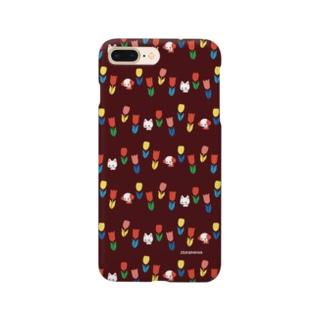 とことこチューリップ Smartphone cases