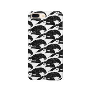 パンチパーマノナマケモノ Smartphone cases