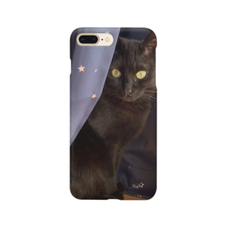 黒猫のかくれんぼ Smartphone cases