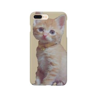 天使な茶トラ猫 Smartphone cases