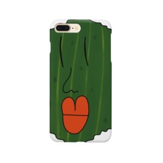 ゴーヤー丸くん Smartphone cases