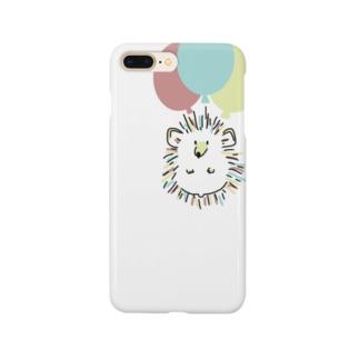 バルーンハリネズミ Smartphone cases