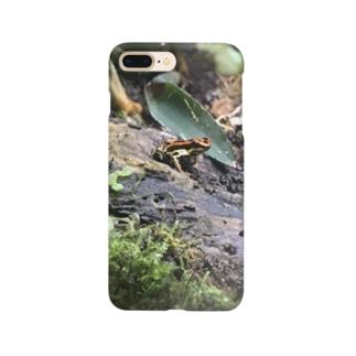 毒々しいカエル Smartphone cases
