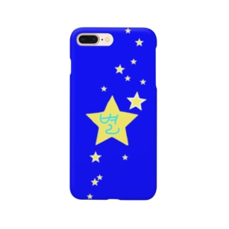 YAYOI.channel の별 ~星~ 青バージョン Smartphone cases