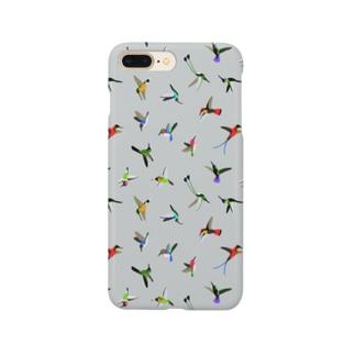ハチドリのグッズ Smartphone cases