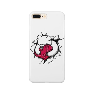 nanda!collectionのズバッ!抜けて!好き iPhone8・SEケース Smartphone cases