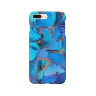 モルフォ横 Smartphone cases