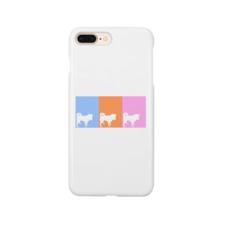 しばいぬさん  10・11・12ミックス Smartphone cases