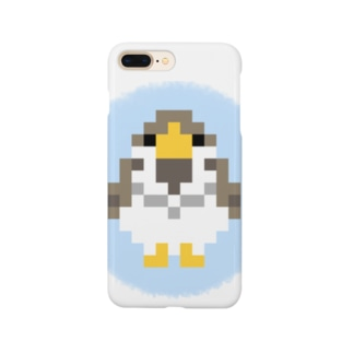 rodentのドット雀 Smartphone cases