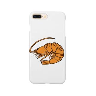 海老 エビ shrimp NO.36 Smartphone cases