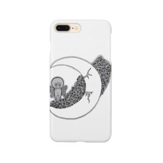 星と月《starry sky》 Smartphone cases