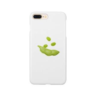 おむすび商店の枝豆 Smartphone cases