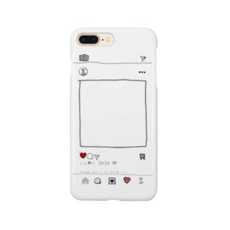 イ〇スタ風 Smartphone cases