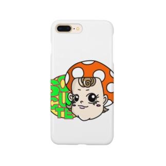 SO CUTE(ホワイト) Smartphone cases