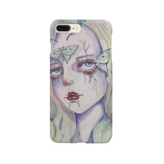 _laboratory_の蛾 Smartphone cases