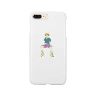 mi_ki_monのふてくされ Smartphone cases