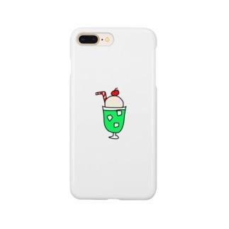 メロンクリームソーダ Smartphone cases