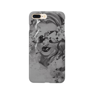 サングラスの女性 2 Smartphone cases